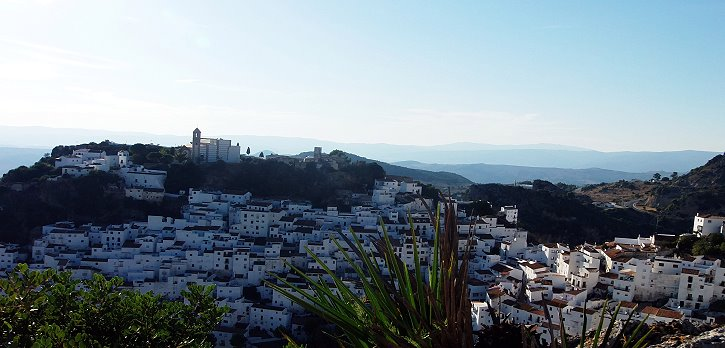 Stunning views of Ronda and the white villages.